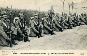 Српска пешадија 1914.