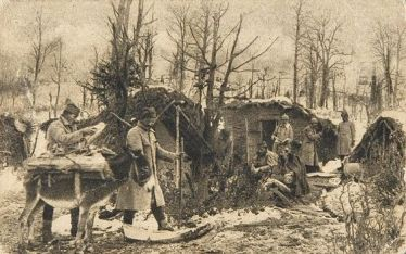 Cрбскa војскa испод Кајмакчалана - Serbian army WWI