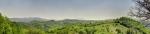 са погледом на југоисток (онај назубљени гребен што штрчи је Велики Крш)