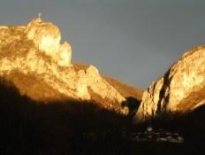 Соколсле планине, изнад манастира