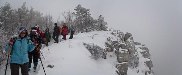 На снежном врху
