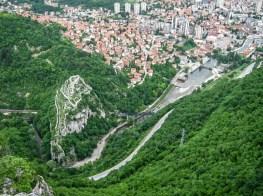 Поглед на тврђаву са Забучја