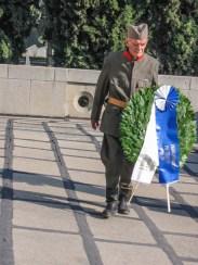 Ђорђе Михаиловић, унук солунског добровољца из Првог св. рата, Саве Михаиловића, чувар Зејтинлика