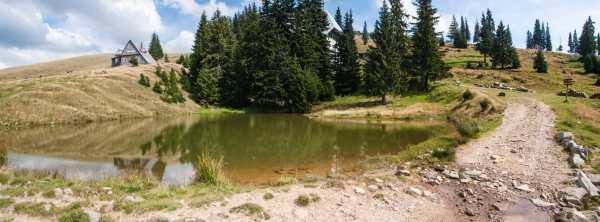 Језеро Кунту - ту ће нам бити камп
