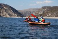 Кајацима по Увачком језеру. Фото: Симо Лим.