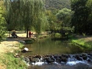 река Топоница у бањи Топило