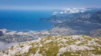 Поглед са врха Лисиња на Бар и Барску обалу, фото Немања Манчић