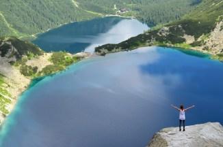 Вода се из Црног језера прелива у Морско око