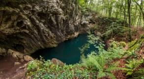 Тајанствено језеро у дубокој шуми