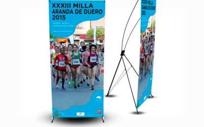 X-Banner, Soporte Publicitario