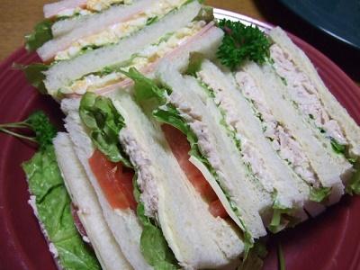 サンドイッチ弁当のコツ