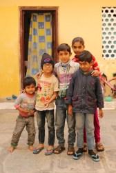 Indian children in Udaipur, India