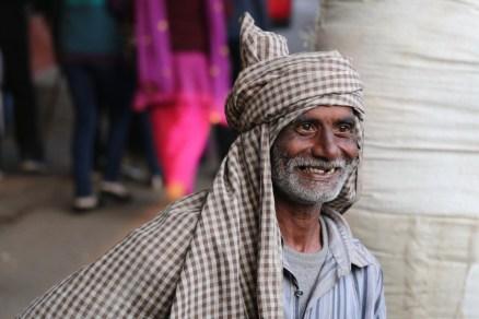 Indian man in Rishikesh, India