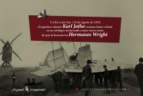 18 de Agosto de 1903: el ingeniero alemán Karl Jatho reclama haber volado en un artilugio motorizado cuatro meses antes de que lo hicieran los Hermanos Wright.