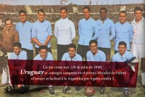 30 de julio de 1930: Uruguay se consagra campeón en el primer Mundial de Fútbol al vencer en la final a la Argentina por 4 goles contra 2.
