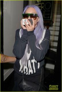Amanda Bynes cabelo lilás