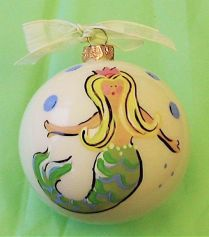 Mermaid Christmas Decoration 2