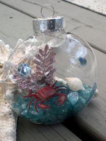 Under The Sea Beach Christmas Ornament