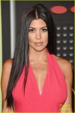 Kourtney Kardashian tão interessante e carismática quanto seu cabelo.