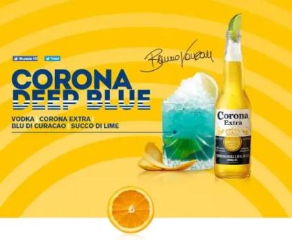 Corona Deep Blue
