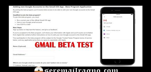 Gmail lancia ufficialmente il primo beta test per iOS