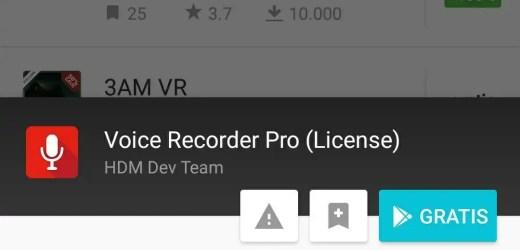 Voice Recorder Pro gratis