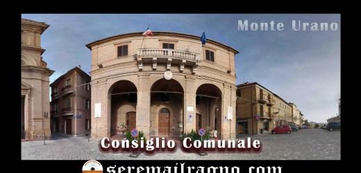 Monte Urano: discussione punti del Consiglio Comunale 29/11/2017