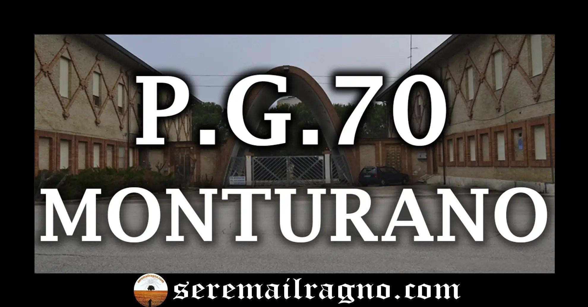 CRONOLOGIA STORICA DEL P.G.70 E DEL POSTO STRATEGICO