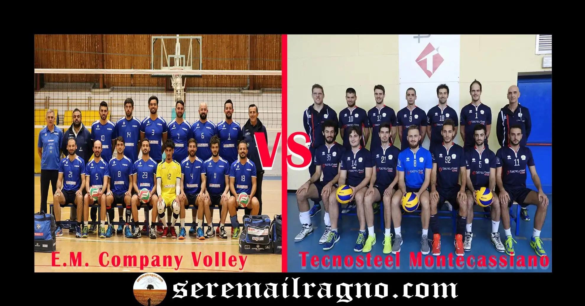 Serie C Volley maschile: E.M. Company Volley vs Tecnosteel Montecassiano