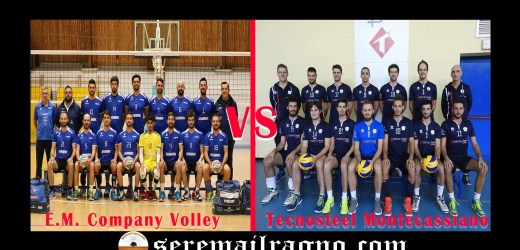 Serie C Volley maschile: E.M. Company Volley vs Tecnosteel Montecassiano