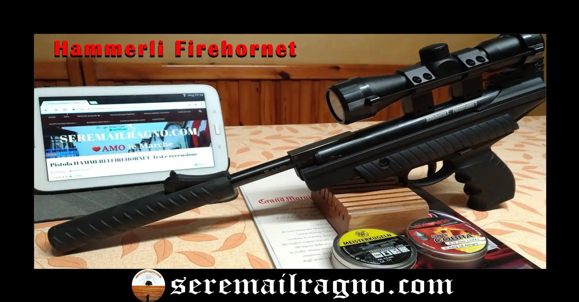 Pistola Hammerli Firehornet+Ottica