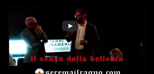 Il ricercatore Paolo Francavilla e i vincitori di BeamLineForSchools: Il senso della bellezza