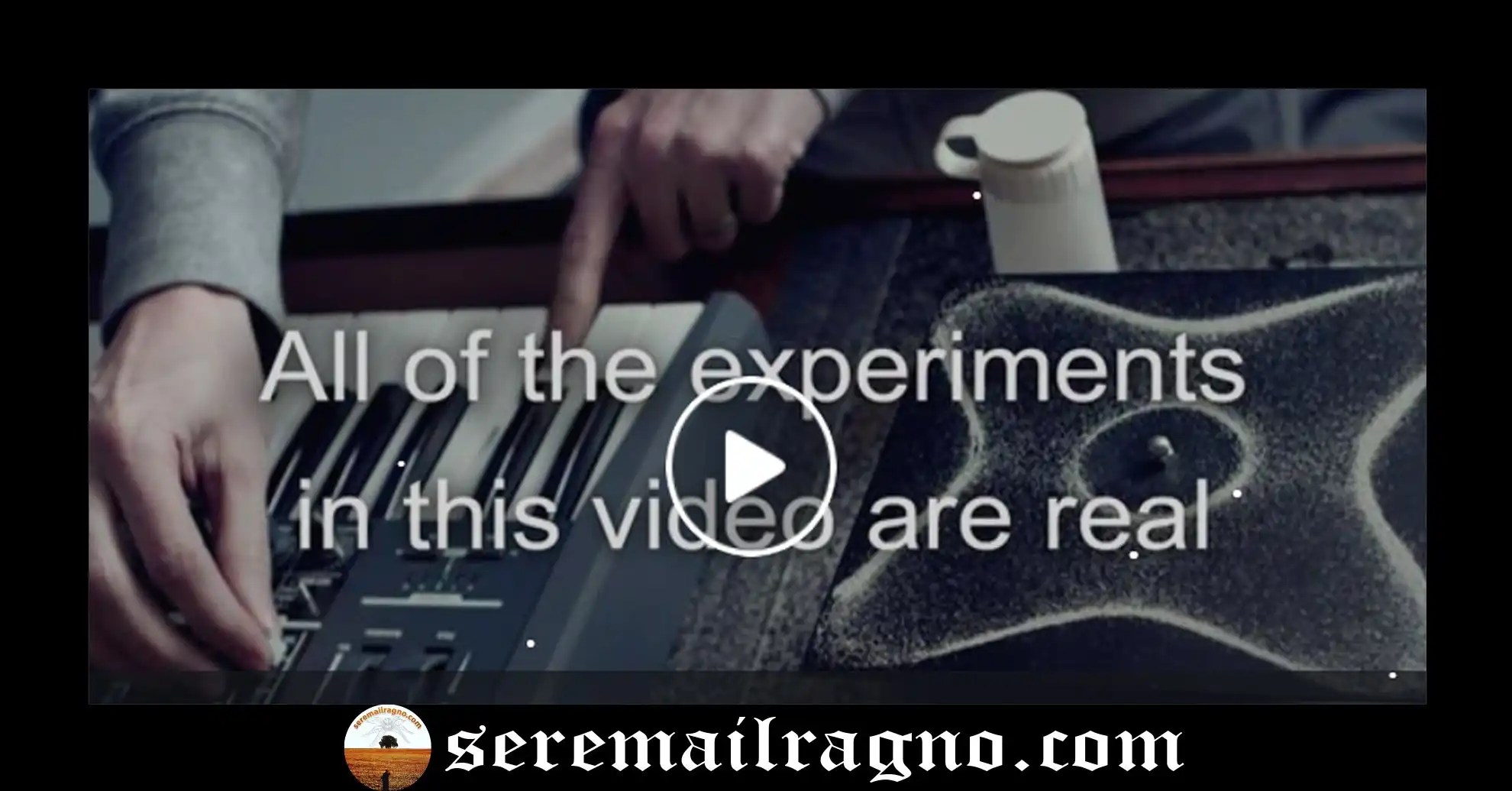 Scienza & Musica-Il video incredibile di Nigel Stanford