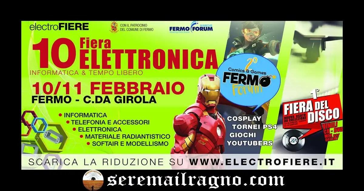 10° Fiera dell'elettronica a Fermo 10-11 Febbraio 2018