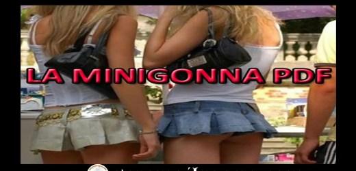 La minigonna P.D.F: un must per le teenager