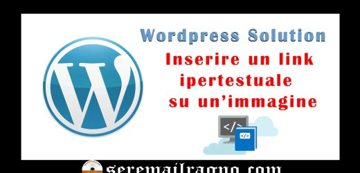 Inserire un link ipertestuale su un'immagine in WordPress