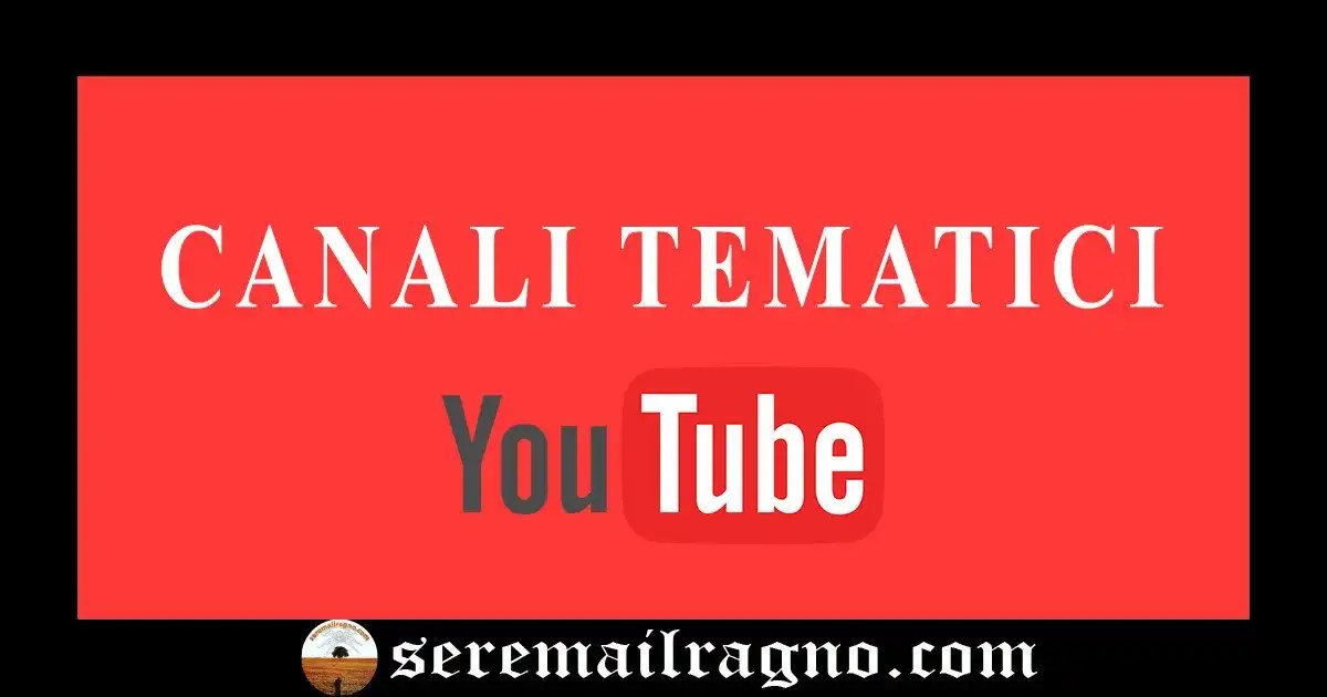 Youtube: generazione automatica di canali tematici