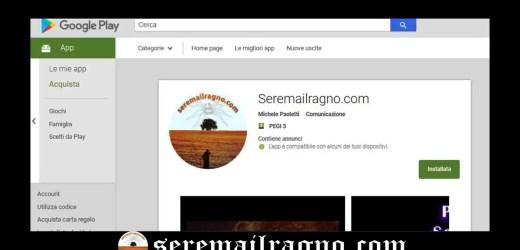 Grazie per questo traguardo! – Seremailragno.com