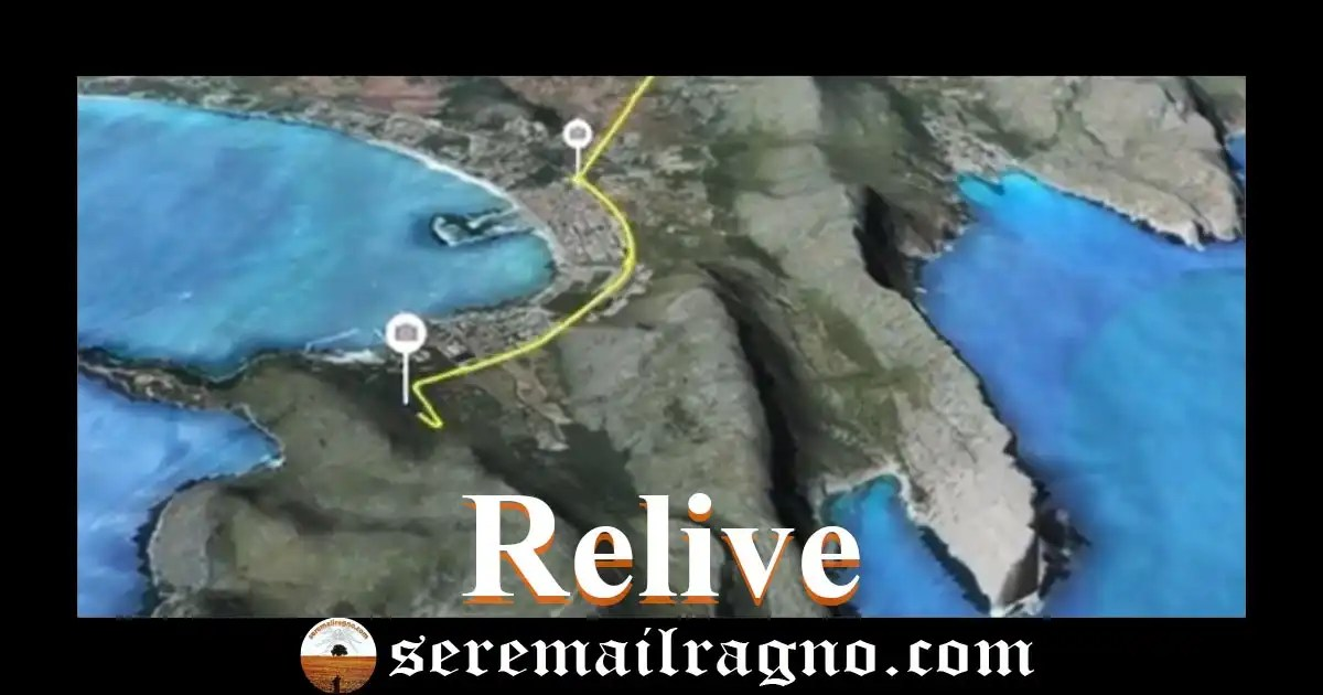 Relive: crea automaticamente video percorsi 3D da tracciati GPS