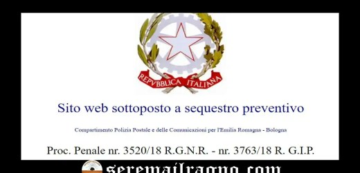 Butac: sito web sottoposto a sequestro preventivo