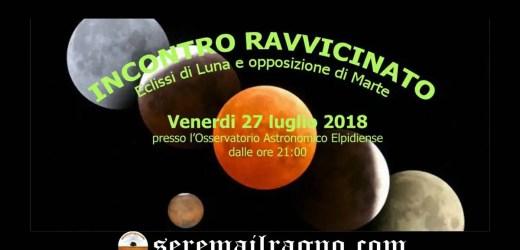 Eclissi di Luna e Marte in opposizione – Incontro ravvicinato con l'eclissi più lunga del secolo