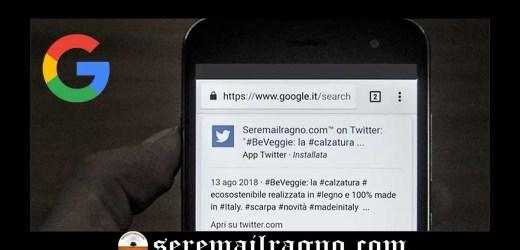 L'importanza di Twitter nell'indicizzazione su Google