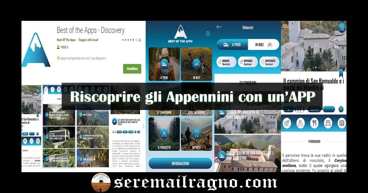 Best of the Apps Discovery – Alla scoperta degli Appennini