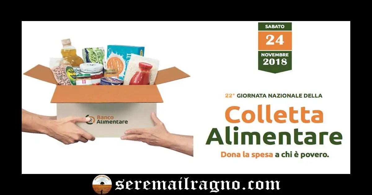 24 Novembre 2018 – 22° Giornata Nazionale della Colletta Alimentare