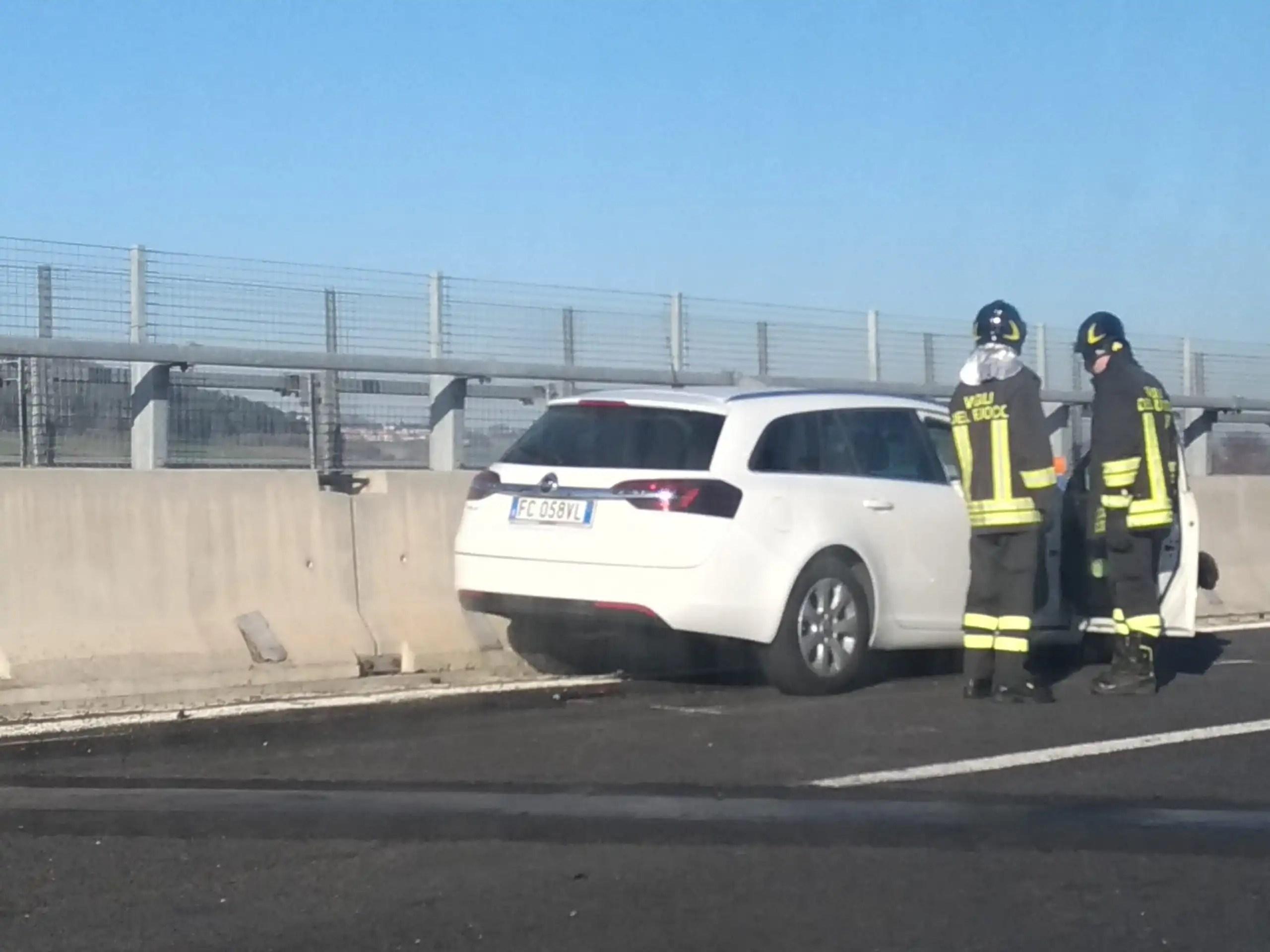 Incidente in A14 direzione Loreto