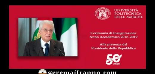 Il presidente della Repubblica sarà presente per il 50° anniversario dell'Università Politecnica delle Marche