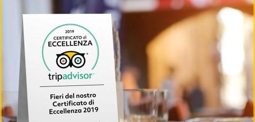 Punto Gelato premiata con il certificato di eccellenza Tripadvisor 2019