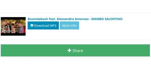 Boomdabash – Mambo Salentino ft. Alessandra Amoroso [video+download]