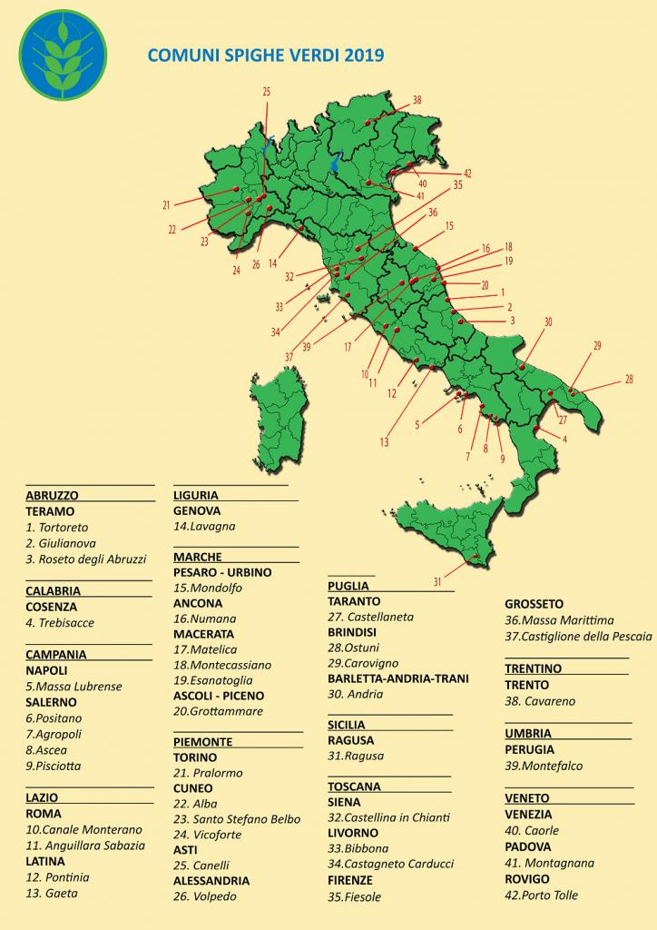 Le Marche sono la regione più green d'Italia