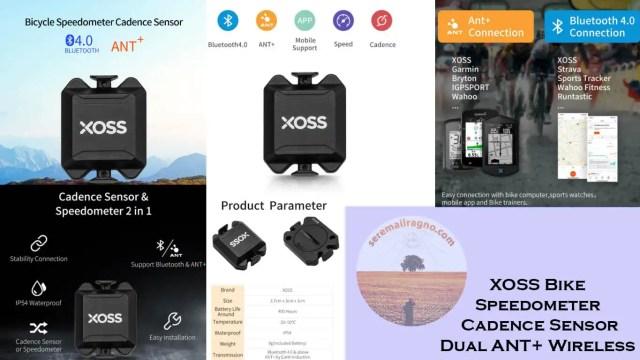 XOSS Spedometer